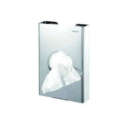 Geesa by Nameeks Standard Hotel Bag Dispenser in Stainless Steel