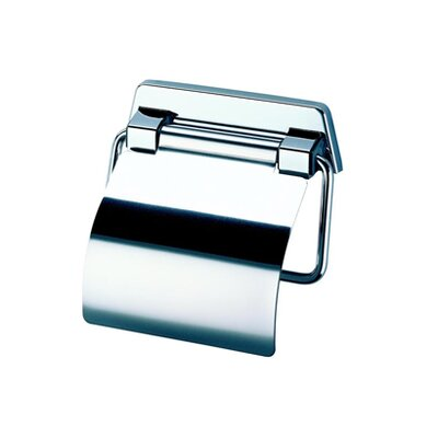 Geesa by Nameeks Standard Hotel Toilet Paper Holder with Cover in Chrome