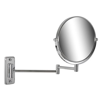 Geesa by Nameeks Adjustable Shaving Mirror in Chrome