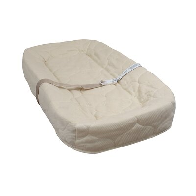 L.A. Baby 4-Sided Square Corner Changing Pad with Quilted Cover