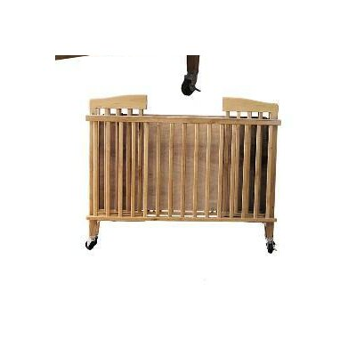 Full Size Wood Folding Crib