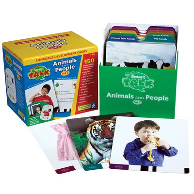 Educational Insights Card Set #3: Animals and People (Smart Talk)