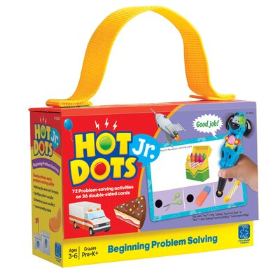 Educational Insights Hot Dots Jr. - Problem Solving