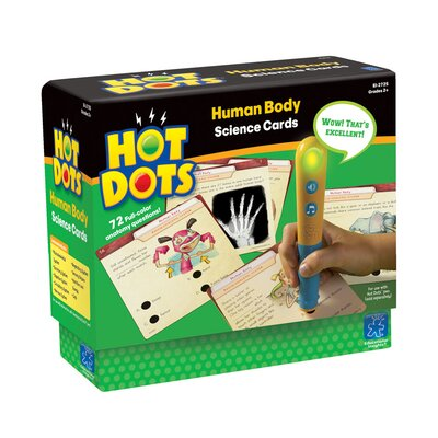 Educational Insights Hot Dots Science Set Human Body