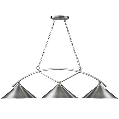 Landmark Lighting Billiards (Section) 3 Light Pendant