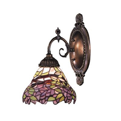 Classic Lighting Autumn Leaves 1 Light Wall Sconce | Wayfair