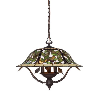 Latham 3 Light Mini Chandelier