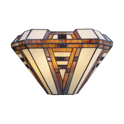 Landmark Lighting American Art 2 Light Wall Sconce