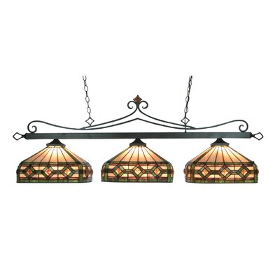 Landmark Lighting Casual Tradition 3 Light Pendant
