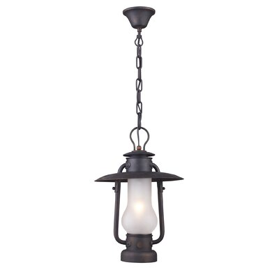 Landmark Lighting Chapman 1 Light Outdoor Pendant