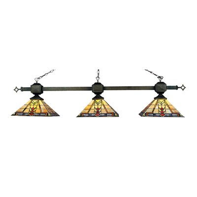 Sedona Billiard Light / Island Light in Tiffany Bronze