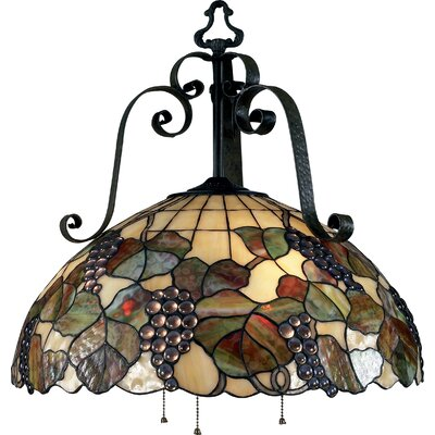 Landmark Lighting Harvest 3 Light Mini Chandelier