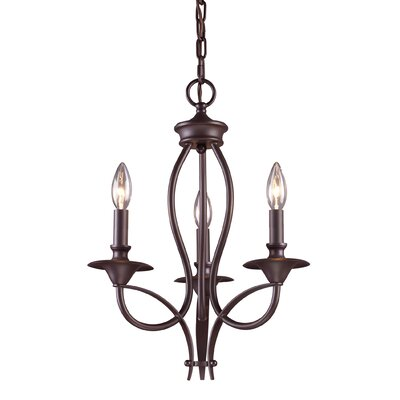 Landmark Lighting Medford 3 Light Chandelier