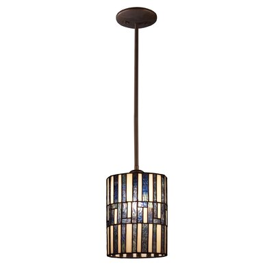 Landmark Lighting Ocean Mirage 1 Light Mini Foyer Pendant