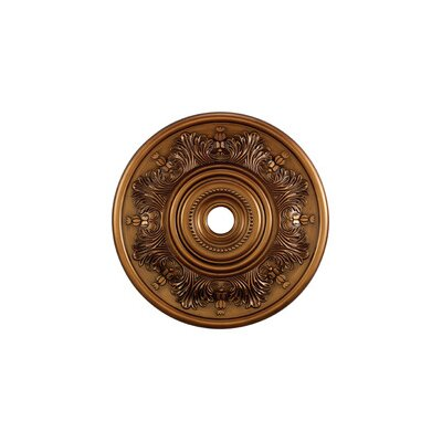 "Landmark Lighting 30"" Laureldale Medallion in Antique Brass"