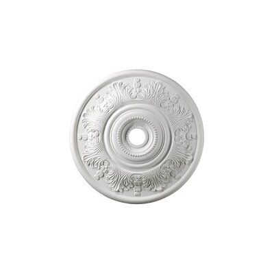 "Landmark Lighting 30"" Laureldale Medallion in White"
