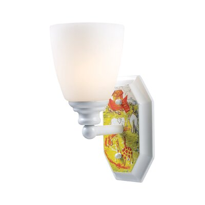 Landmark Lighting Kidshine 1 Light Noah's Ark Wall Sconce