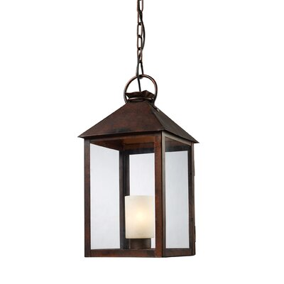 Landmark Lighting New Colony 1 Light Mini Foyer Pendant