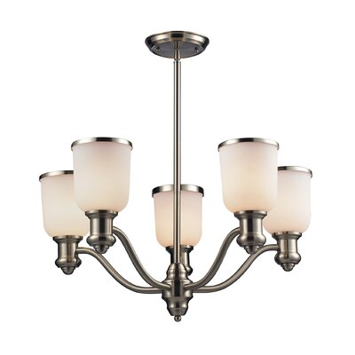 Landmark Lighting Brooksdale 5 Light Chandelier