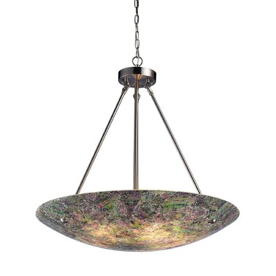 Landmark Lighting Avalon 5 Light Inverted Pendant