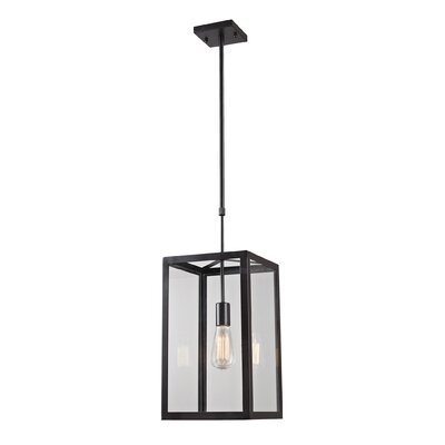 Landmark Lighting Parameters-Bronze 1 Light Foyer Pendant