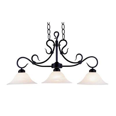 Buckingham 3 Light Pendant