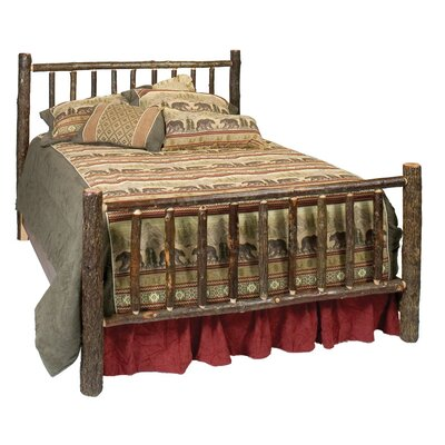 Fireside Lodge Hickory Slat Headboard