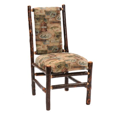 Fireside Lodge Hickory 2 Drawer Writing Desk and Chair Set