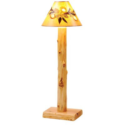 Fireside Lodge Hickory Agates and Foliage Lamp Shade