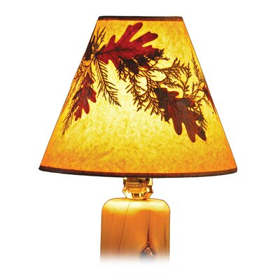 Fireside Lodge Hickory Foliage Lamp Shade