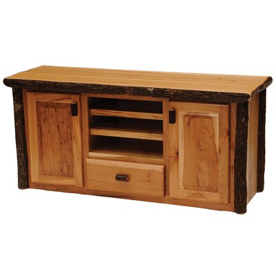 "Fireside Lodge Hickory 62"" TV Stand"