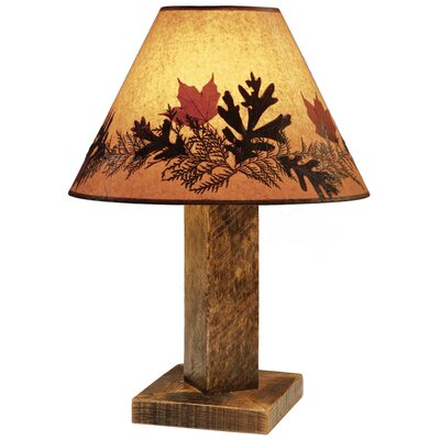 Fireside Lodge Barnwood Table Lamp
