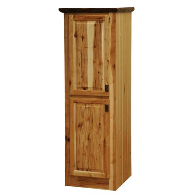 Fireside Lodge Hickory Linen Cabinet