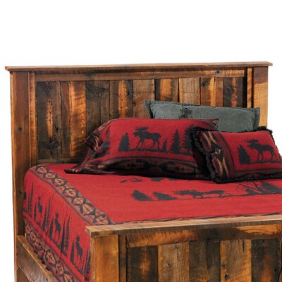 Fireside Lodge Reclaimed Barnwood Panel Headboard