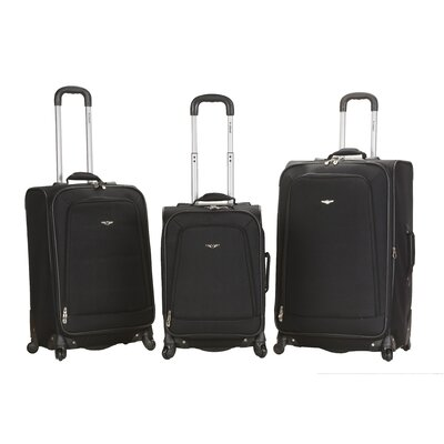 Fusion 3 Piece Monte Carlo Spinner Luggage Set