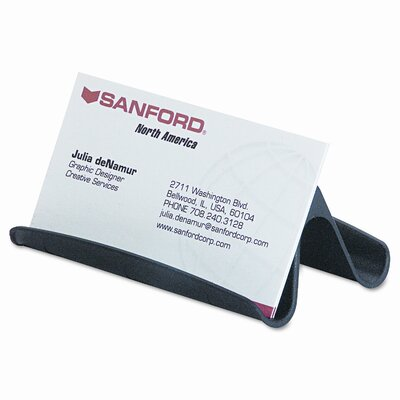 Rubbermaid Universal Covered Tray Business Card File Holds