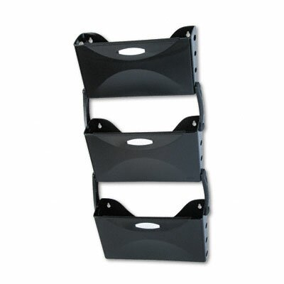 Rubbermaid Ultra Hot File 3 Pocket Wall File Set, Legal