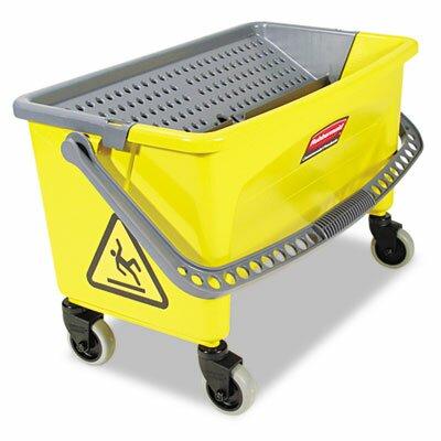 Rubbermaid Commercial Hygen Hygen Press Wring Bucket For Microfiber Flat Mops