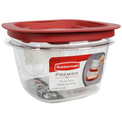 Rubbermaid 2 Cup Premier Food Storage Container