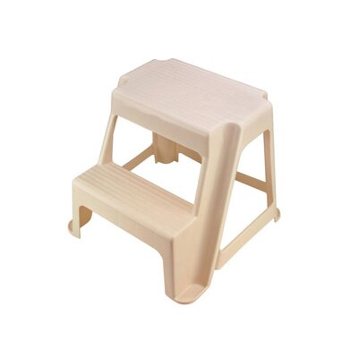 Rubbermaid Two-Step Stool in Bisque