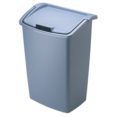 Rubbermaid 45 Quart Bisque Dual Action Wastebasket (Price for 1, Order Quantities of 6)