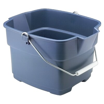 Rubbermaid 15 Quart Aquamarine Roughneck Bucket