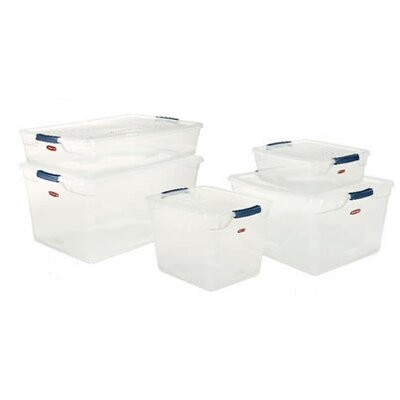 Rubbermaid Clever Store Basic Latch Storage Bin
