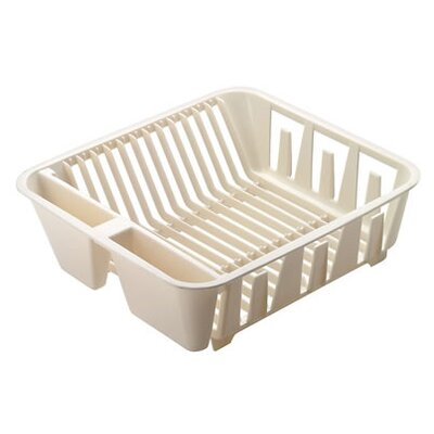 Small twin sink dish drainer wayfair - Dish racks for small spaces set ...
