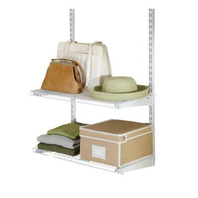 Rubbermaid Configurations Closet Shelf Kit Amp Reviews Wayfair