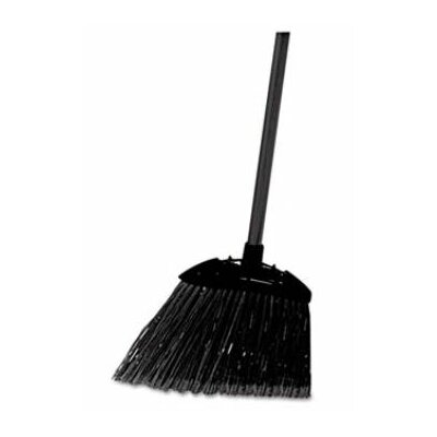 Rubbermaid Lobby Pro Broom, Poly Bristles, Metal Handle, Black