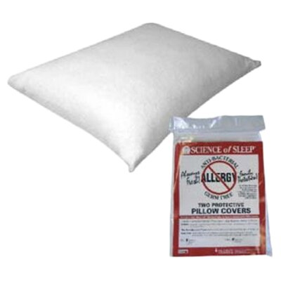 <strong>Hudson Medical</strong> Science of Sleep Allergy Free Pillow Protectors-Twin Pack