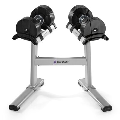 Stairmaster TwistLock Dumbbell Stand