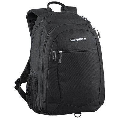 Caribee Data Pack Laptop Day Pack in Black