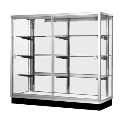 "Sturdy Store Displays 60"" x 70"" Aisle Showcase"